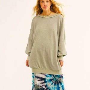 Free People Far Behind Pullover, XS